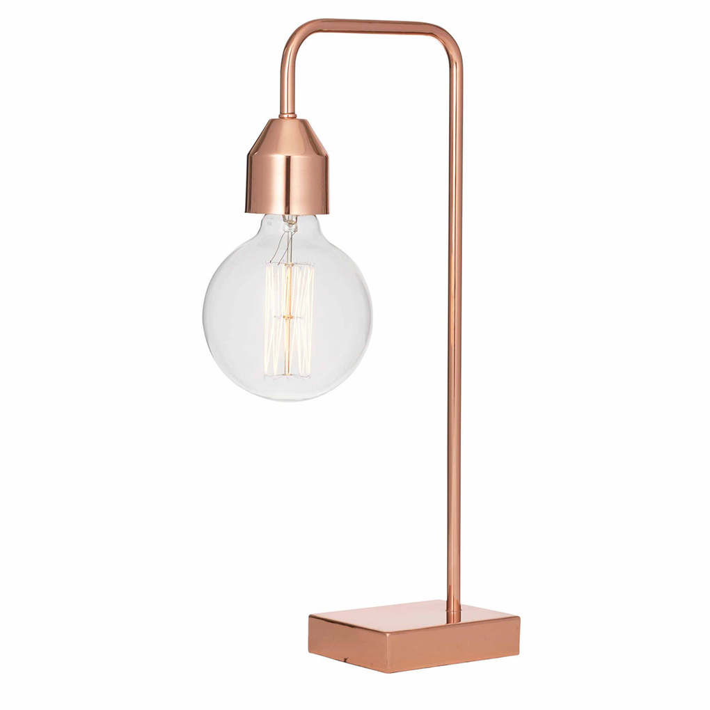 Adairs copper table lamp best inspiration for table lamp for Copper floor lamp adairs