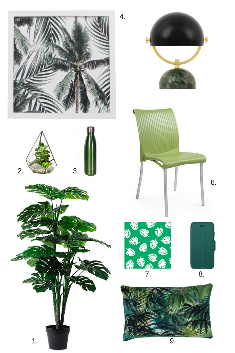 Colour of the year pantone greenery