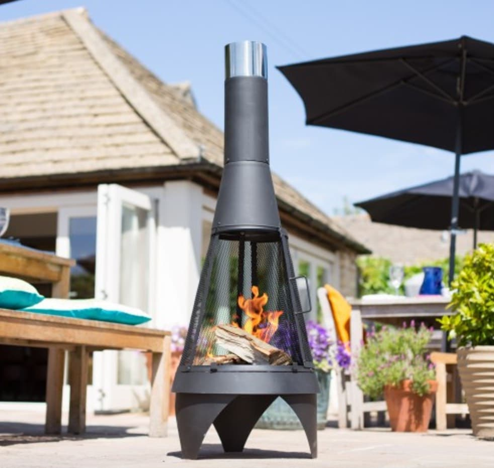 Fire Pit Bbq Galore Part - 26: Mesh Colorado Chiminea, $99, Barbeques Galore