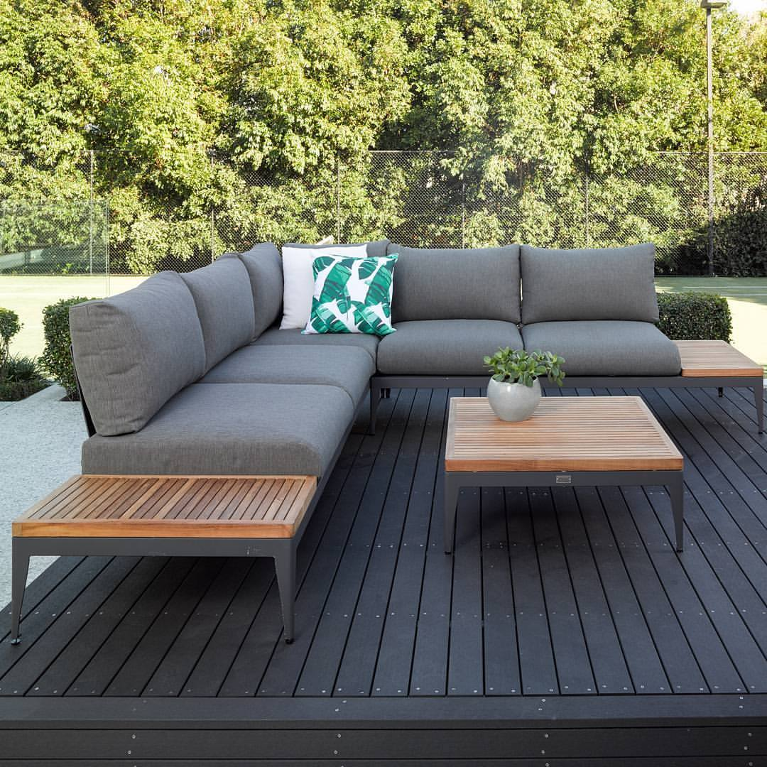 The austin corner lounge available from the outdoor furniture specialists
